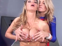 Cat Girl Tanya, Makes Super Girl, Amanda, Cream - SexyMomma