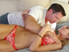 Best pornstar Amanda Tate in horny facial, blonde sex video