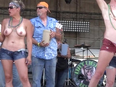 First Wet T At Abate Of Iowa Biker Rally 4th Of July Weekend 2016 - NebraskaCoeds