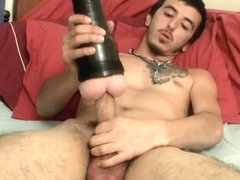 His First Time With A Fleshlight - Zosa Zayne - StraightNakedThugs