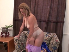 American Milf Jayden Matthews Strips And Finger Fucks