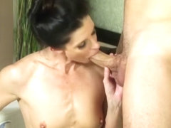 Wam Cougar Masseuse Fucks