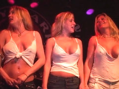 Girls In Jeans Flashing Their Perfect Tits In A Contest - SouthBeachCoeds