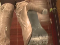cock trample shoejob