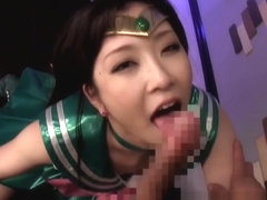Sailor costume nippon jizzed in mouth