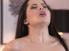 Cassie Fire & Michael Fly in Horny Brunette's Sexy Dance To Fuck - DaneJones