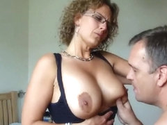 Sweet Danish amateur wife su...