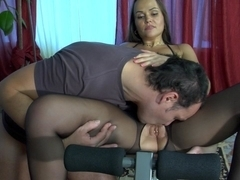 PantyhoseLine Clip: Paula and Marcus