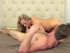 Exotic pornstars Levi Steele, Amber Lynn Bach, Kylie Worthy in Amazing Tattoos, Blonde xxx video