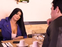Romi Rain gets screwed in the bathroom