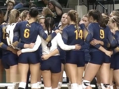Sexy College Volleyball Girls