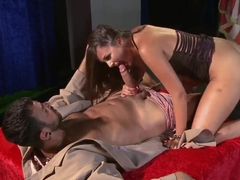 Hot chick Allie Haze fucks with her best friend