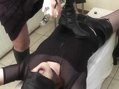 Mistress loves to use submissive T-Girls