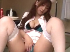Exotic Japanese chick in Crazy Big Tits, Nurse/Naasu JAV video
