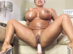 TAMARA: Busty babe Ava Devine gets her holes filled