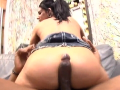Bella Reese takes on black monster cock