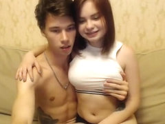 Hot teen couple fuck
