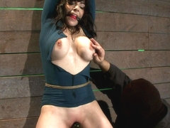 Big Titted Milf, Feels The Evil Bite Of A Crotch Ropeorgasms Are Ripped Out Of Her Helpless Body -.