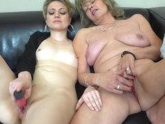 Nylon lesbios horney masturbate