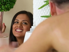 Amazing pornstars Bianca Breeze, Selma Sins in Hottest Massage, Blowjob porn movie