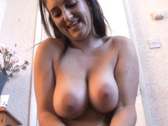 Free down blouse video of huge jugs being squeezed properly