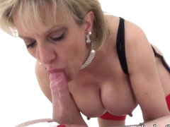Lady Sonia jerks off and suck twitter follower - LadySonia
