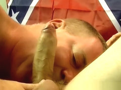 Experienced cock guzzler gives amateur dude a blowjob