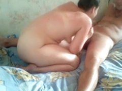 Incredible amateur small dick, mature, chubby sex movie