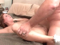 Charlie Ann in Cock Jumping Redhead Girl
