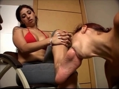 Real Smelly Soles - foot fetish lesbo