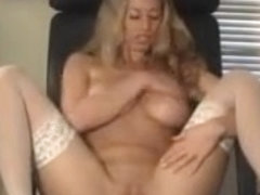 Anita Dark Masturbating at the Office