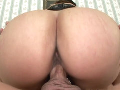 Older Brunette MILF Sucks Like A Pro!