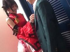 Fabulous Japanese girl Ria Horisaki in Hottest JAV censored Swallow, Threesomes video