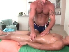 Bryce gets fucked hard by his masseur