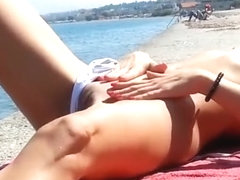 Voyeur exhibitionist amateur horny greek wife dare a stranger