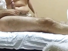 Hidden camera Asian massage happy ending