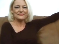 hot blonde granny fucked with two guys