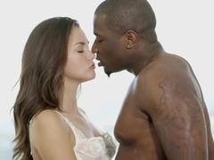 Allie Haze loves interracial anal sex