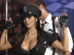 Big TITS in uniform - Ava Addams Rocco Reed - Tits on Patrol - Brazzers